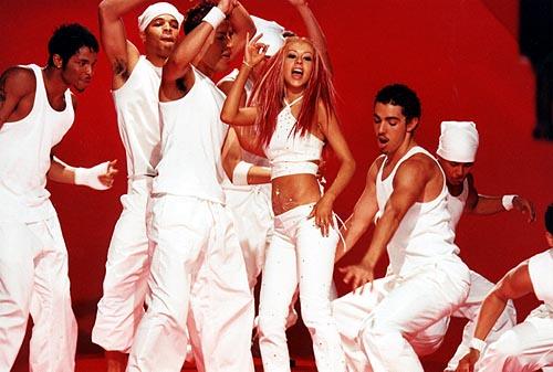 Britney vs Christina Ryan Gosling Baby